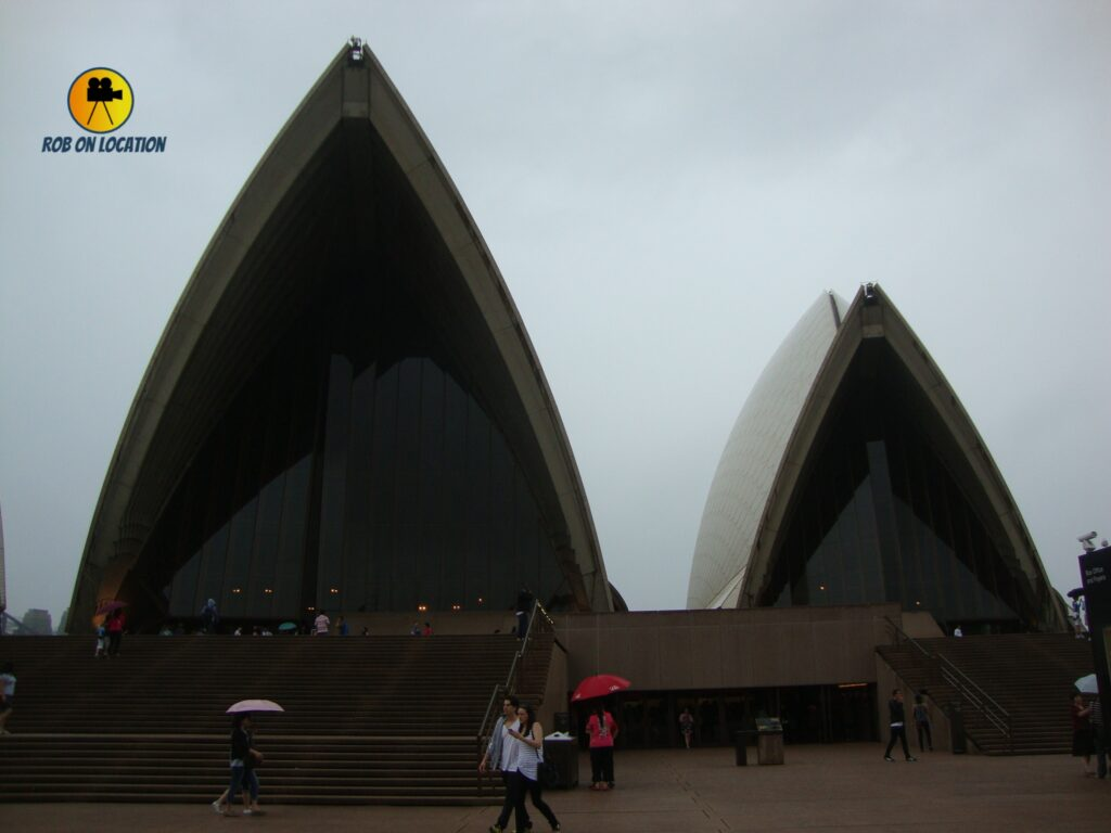 Sydney Opera House on Dance Academy