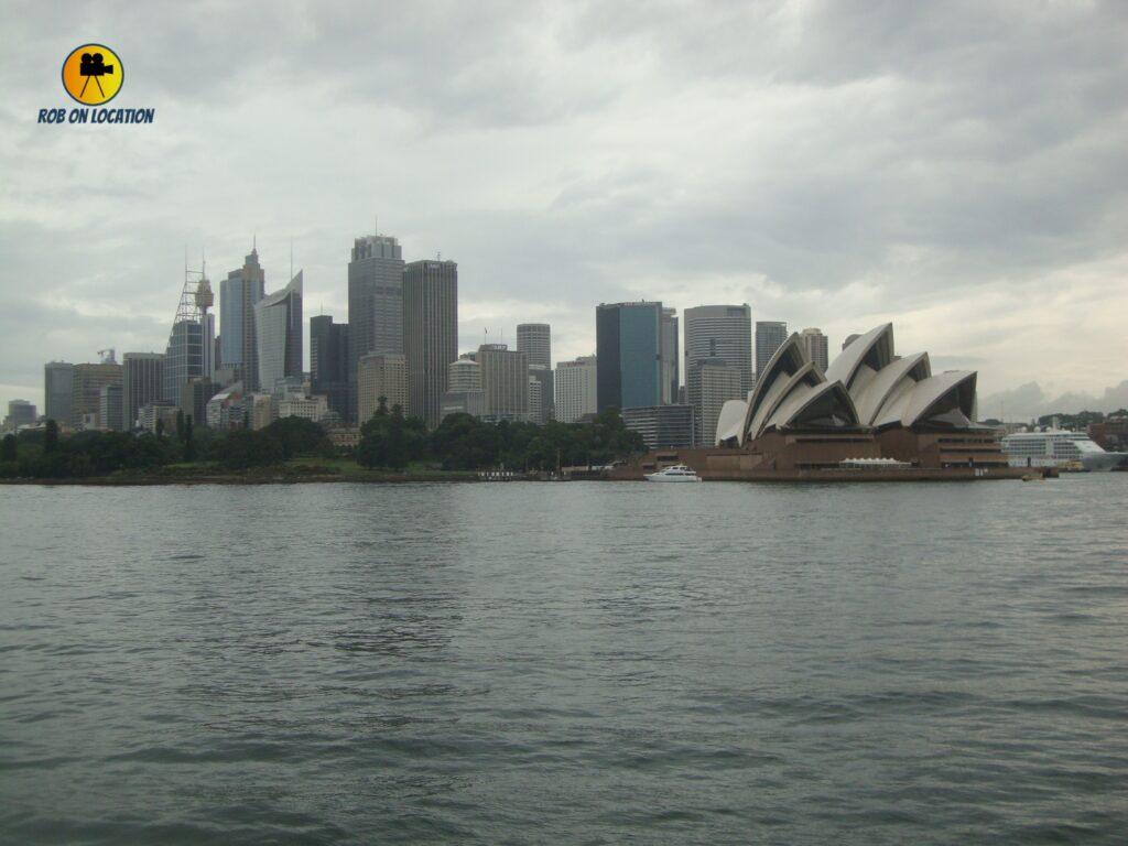 Sydney Opera House on Dance Academy