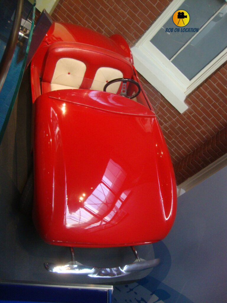 car from Disneyland's Autopia