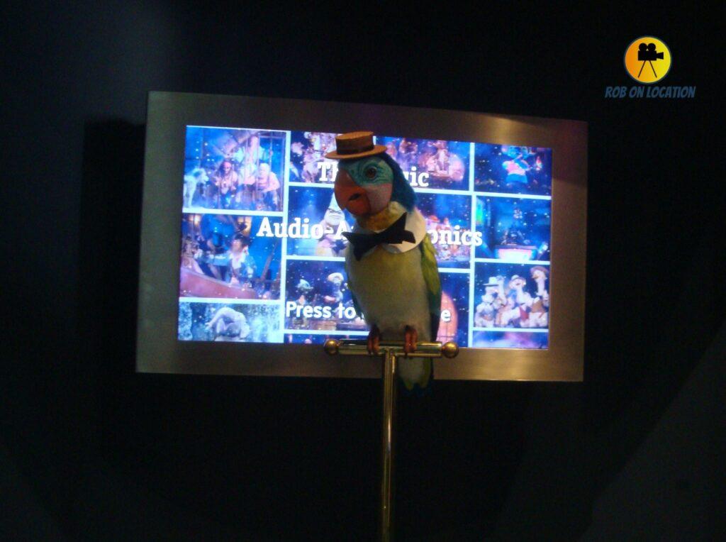 Disney Audio Animatronic bird