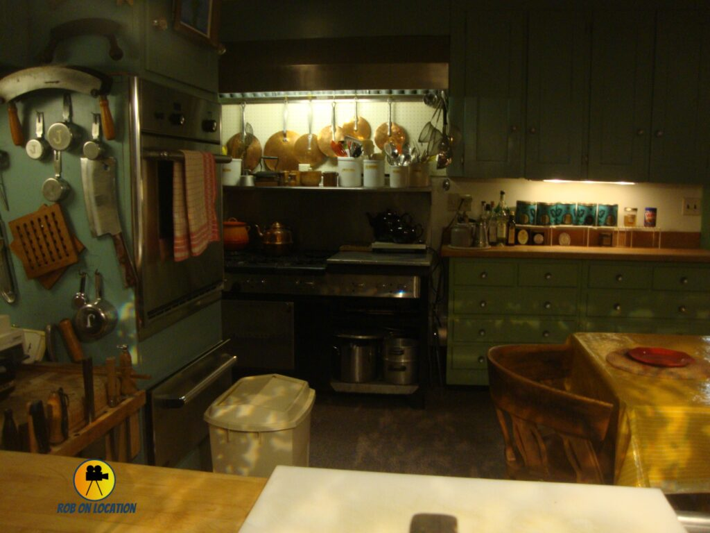 Julia Child's kitchen at the Smithsonian