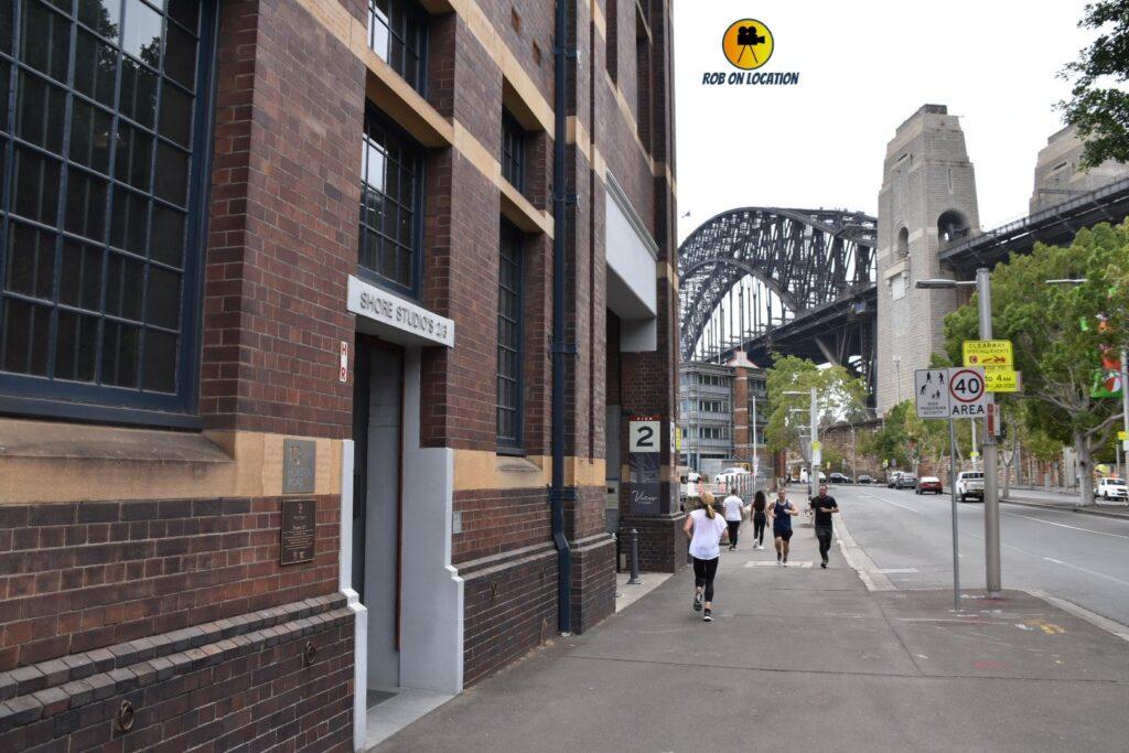 Sydney Wharf Complex on Dance Academy