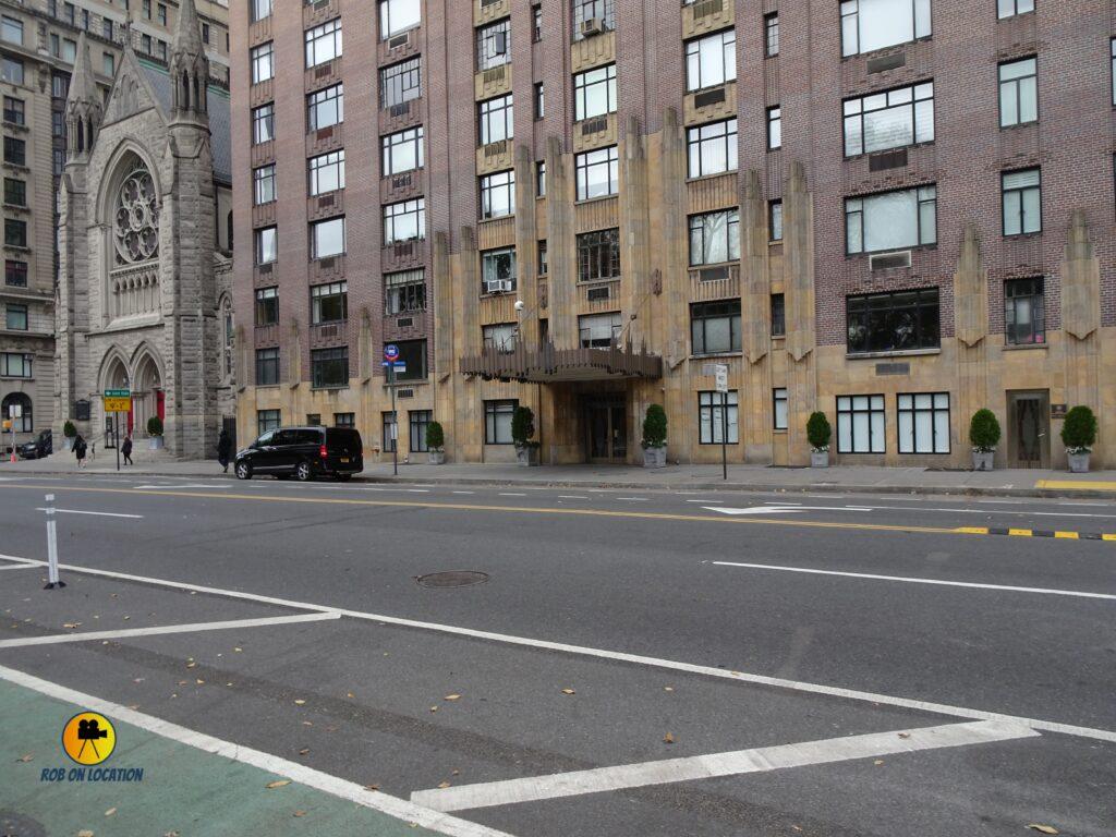 Elf apartment building