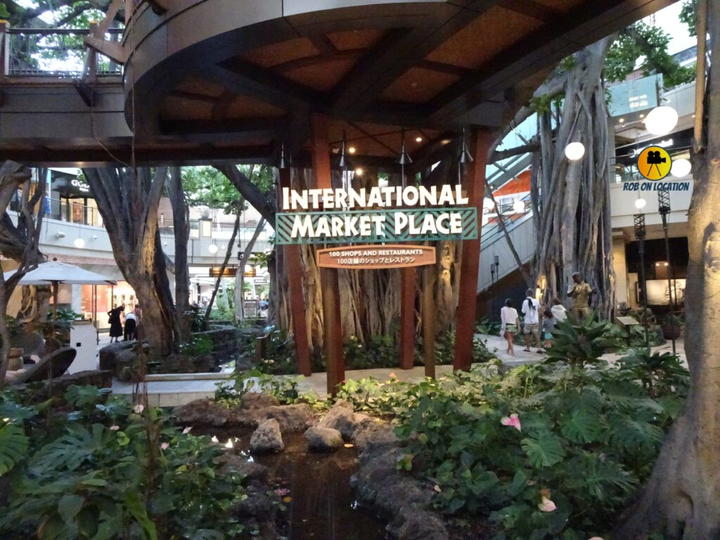 International Market Place from Blue Hawaii