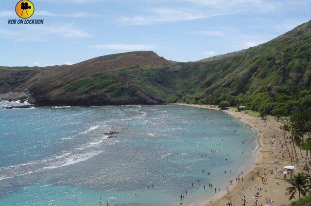 Hanauma Bay as seen in Blue Hawaii