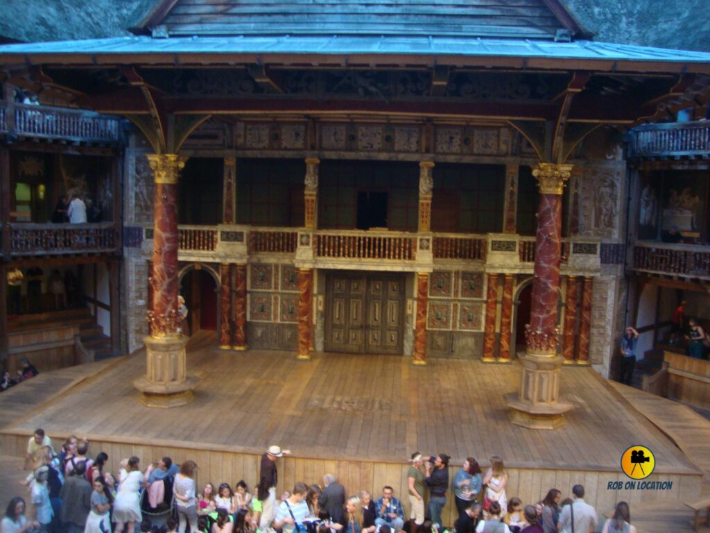 Shakespeare's Globe in England