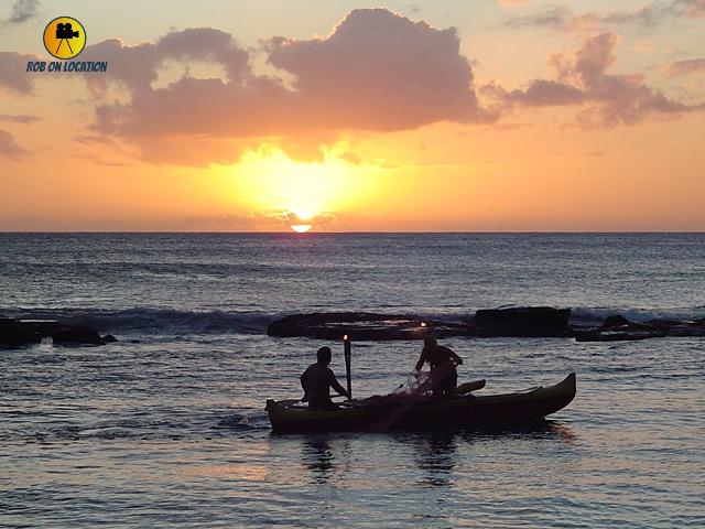 Paradise Cove Luau sunset