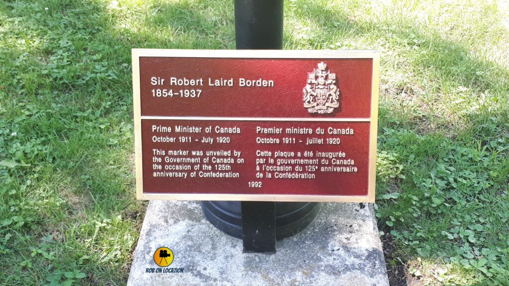 Sir Robert Borden grave