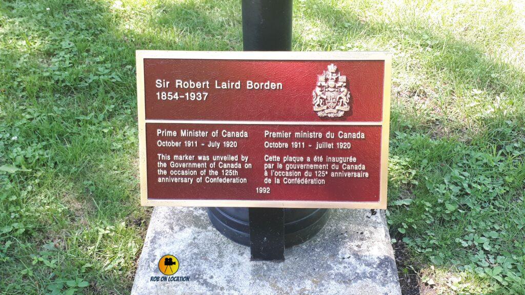 Sir Robert Borden grave