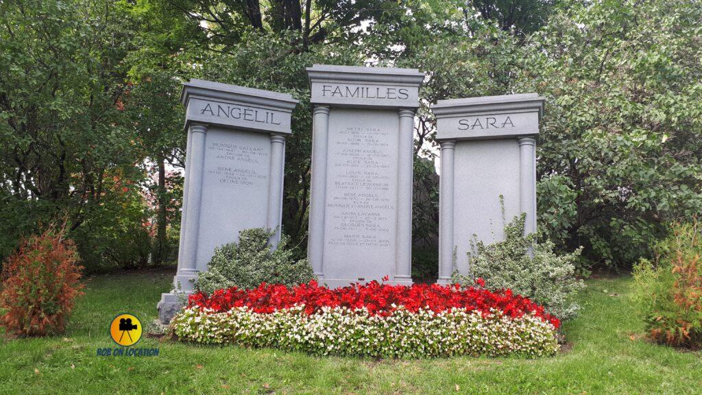 Grave of Rene Angelil