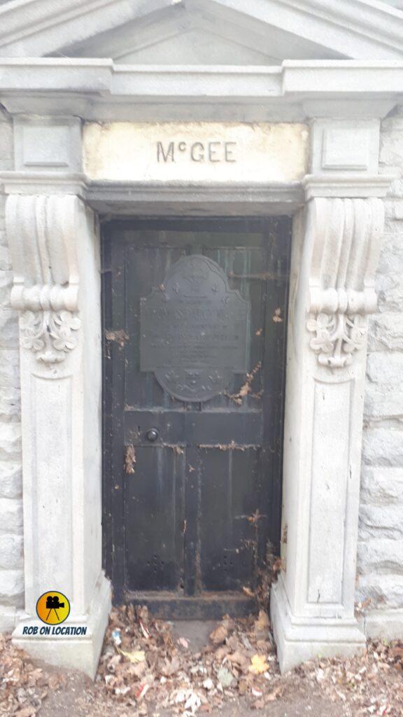 Darcy McGee crypt