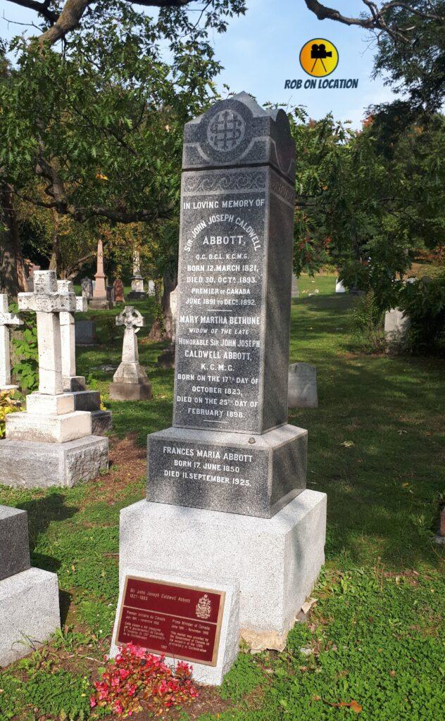 Sir John Abbott grave