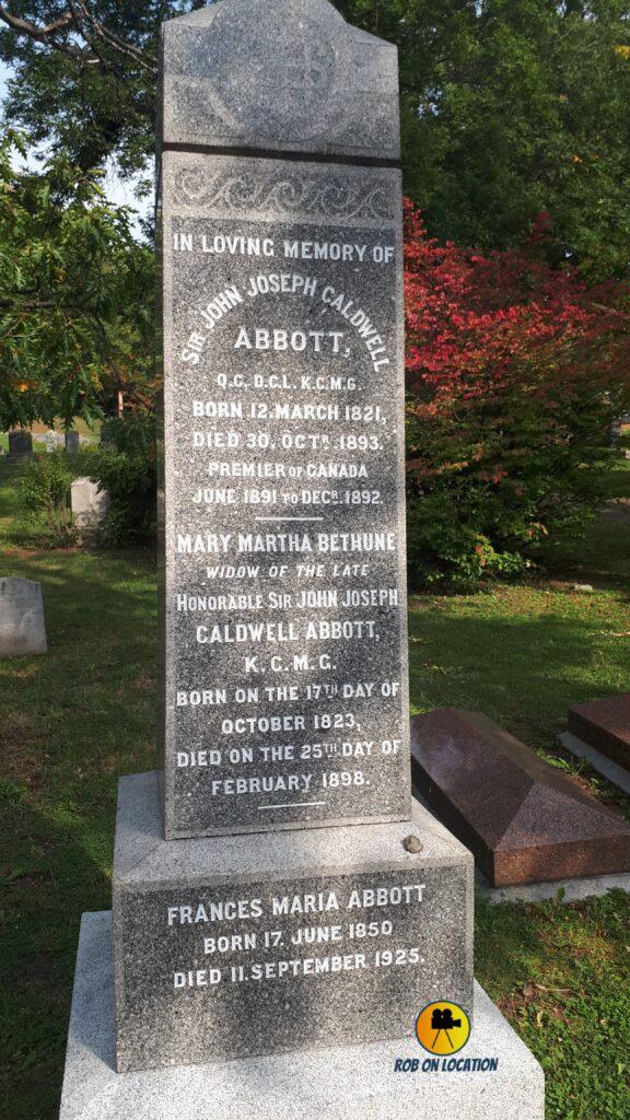Abbott grave
