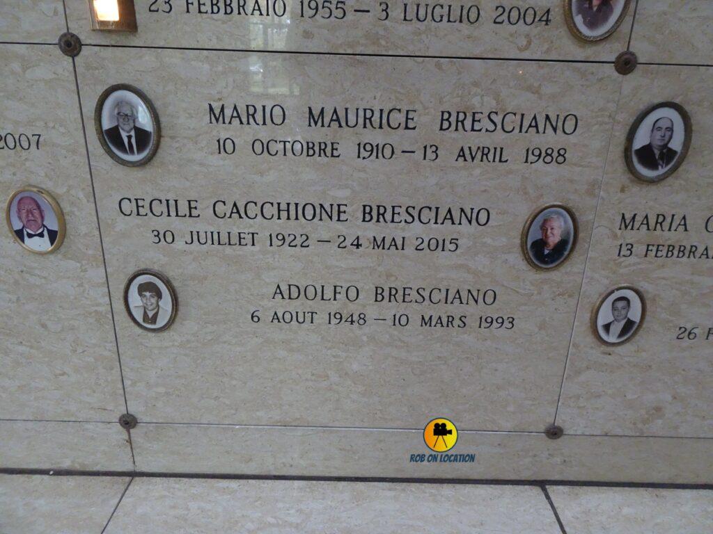 Dino Bravo grave