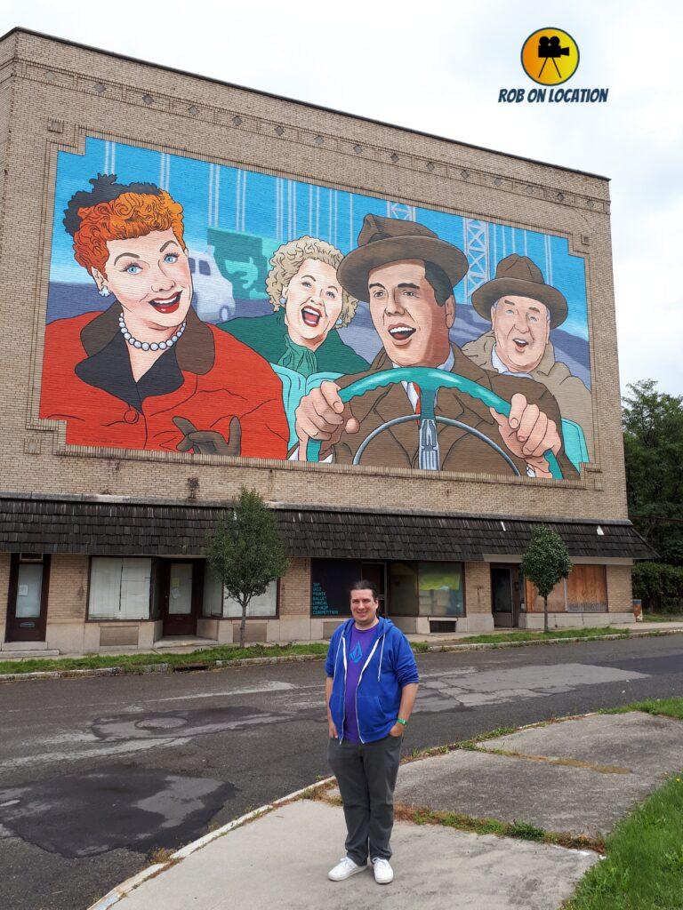 I Love Lucy murals