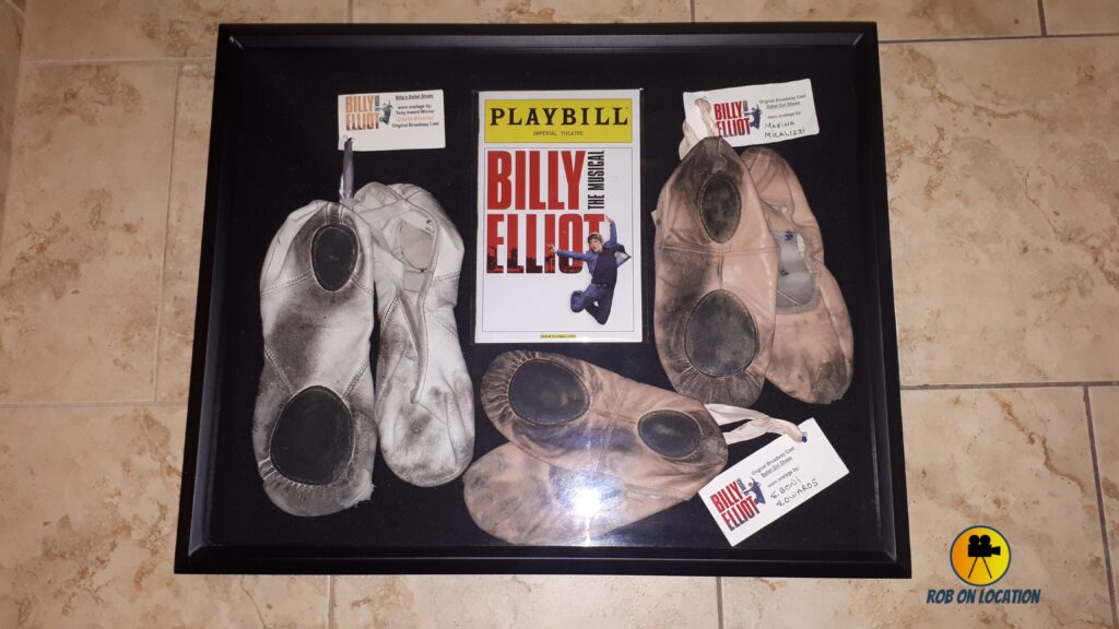 Billy Elliot The Musical ballet shoes