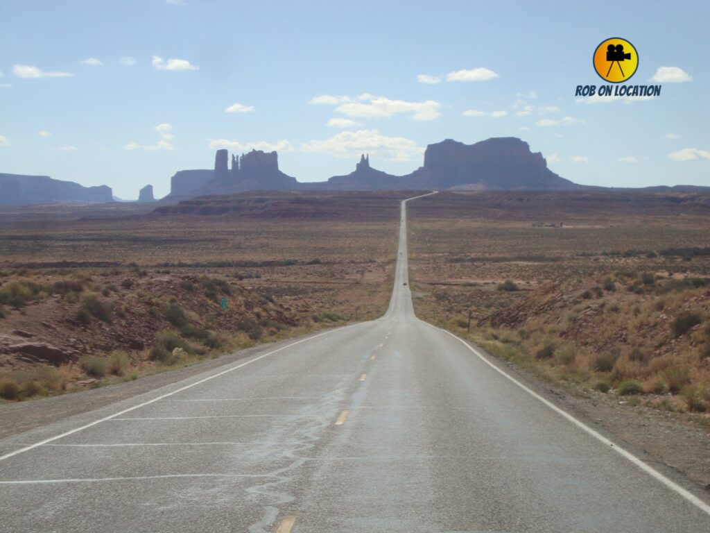 Monument Valley from Forrest Gump