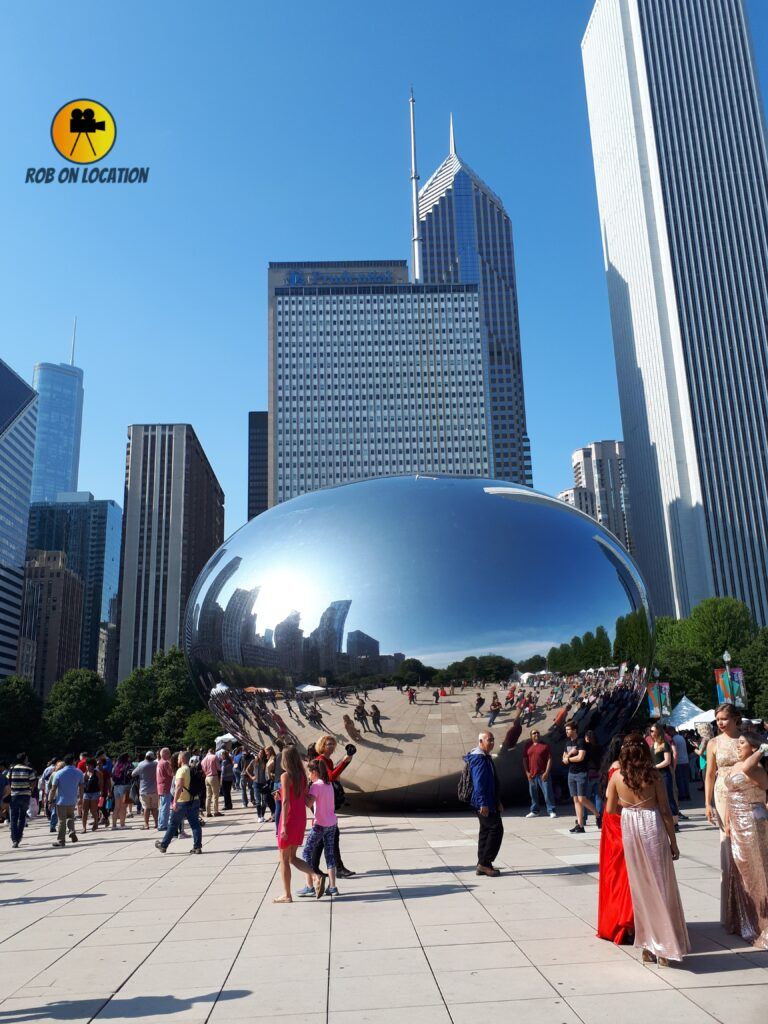 The Bean in Chicago, as featured on Tiny Pretty Things