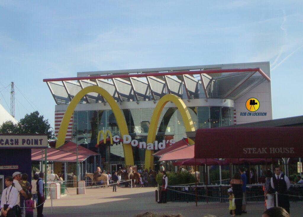 McDonalds Disneyland Paris