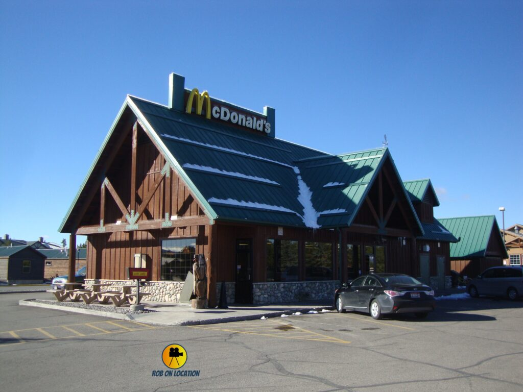 McDonalds Yellowstone Park